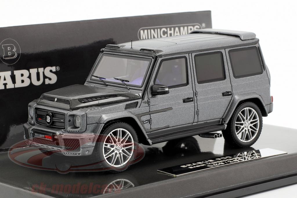minichamps-1-43-brabus-900-basado-en-g65-ano-de-construccion-2017-gris-437037401/