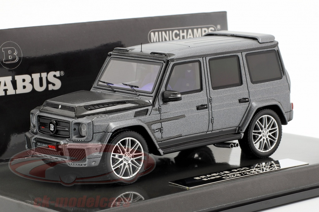 minichamps-1-43-brabus-900-base-sur-g65-annee-de-construction-2017-gris-437037401/