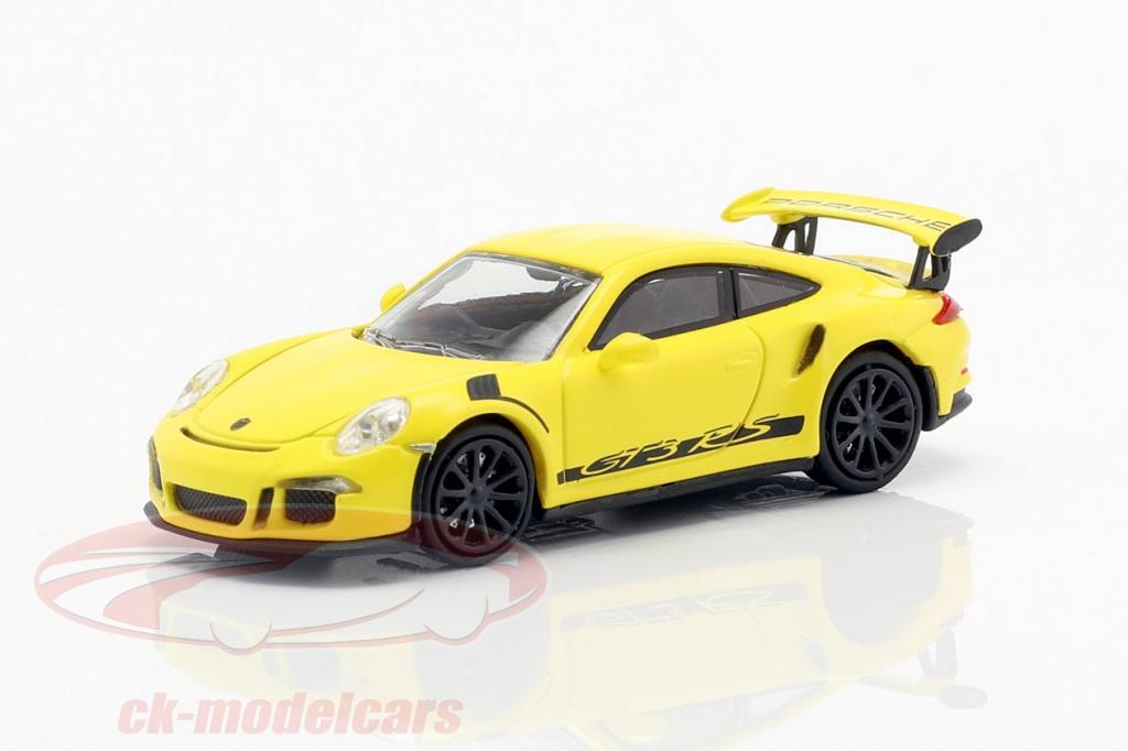 minichamps-1-87-porsche-911-991-gt3-rs-annee-de-construction-2013-courses-jaune-noir-870063225/