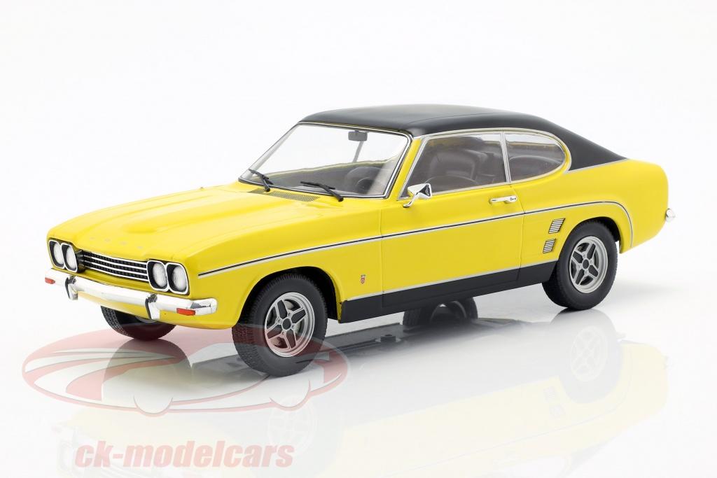 modelcar-group-1-18-ford-capri-mk-i-baujahr-1973-gelb-schwarz-mcg18085/