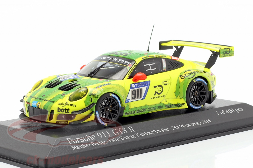 Bamber // Dumas // Estre GT3 R 991 Porsche 911 24h Nürburgring 2018 Spark