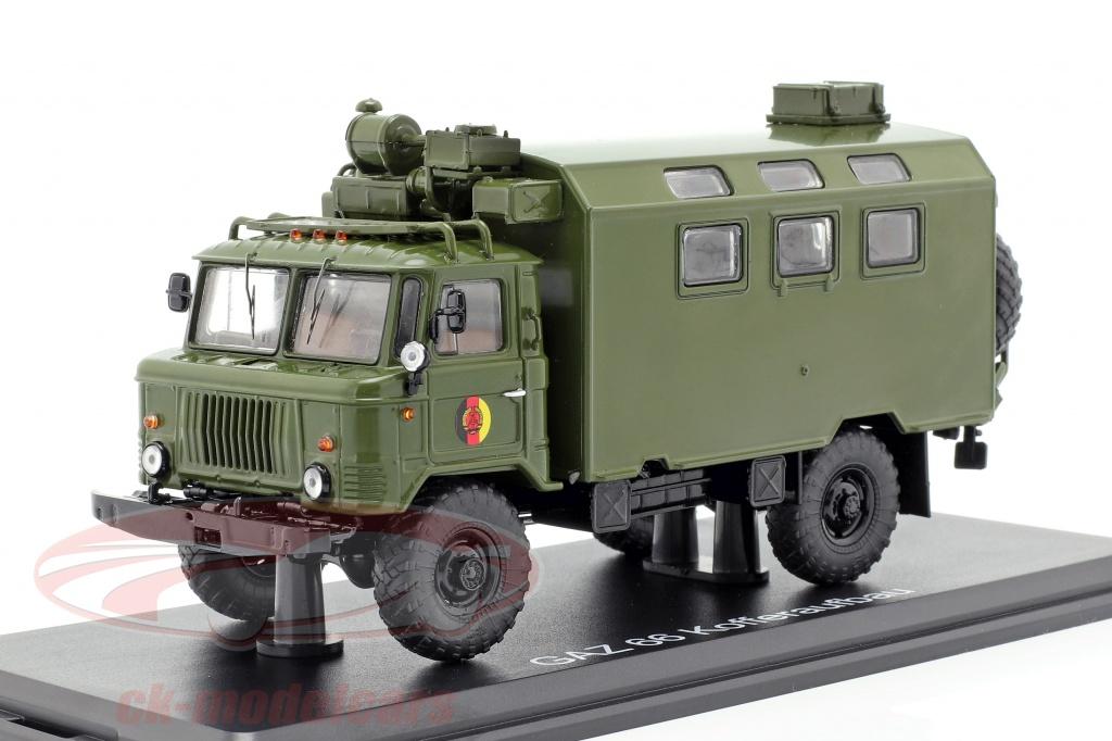 premium-classixxs-1-43-gaz-66-kofferaufbau-nva-truck-militair-voertuig-donker-olijf-pcl47098/