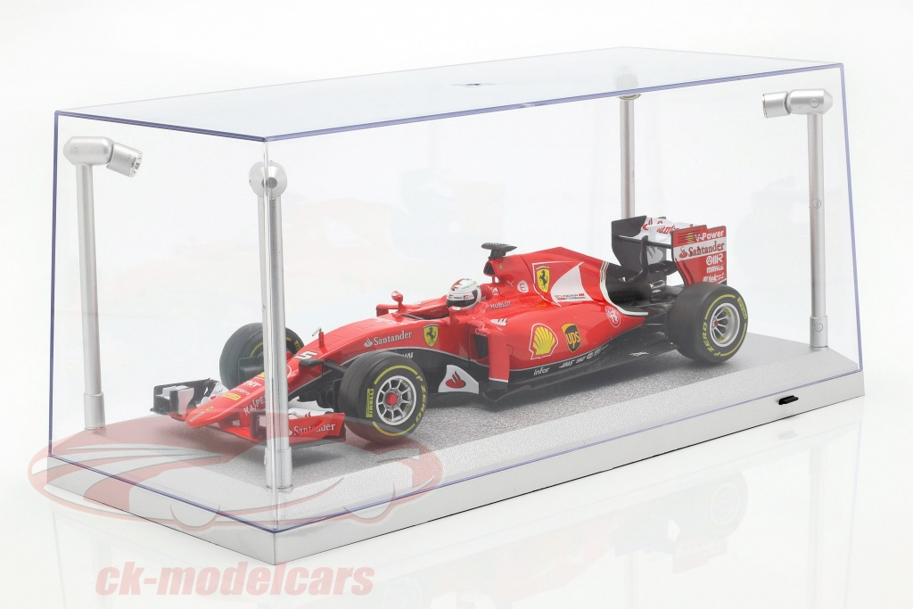 single-showcase-silver-with-4-led-lamps-for-modelcars-in-scale-1-18-triple9-t9-189922/