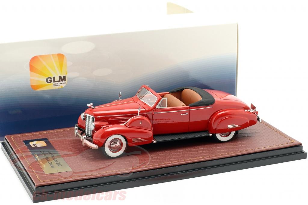 great-lighting-models-1-43-cadillac-v16-converteerbaar-coupe-open-top-bouwjaar-1938-rood-glm43101603/