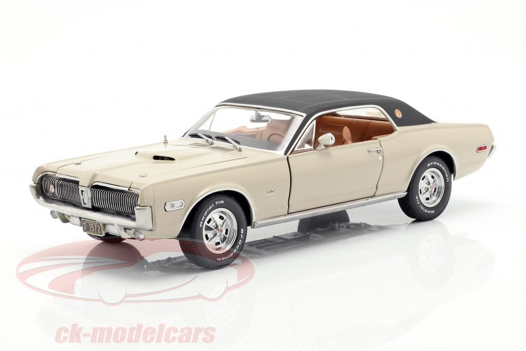 sun-star-models-1-18-mercury-cougar-xr7g-baujahr-1968-beige-schwarz-1572/