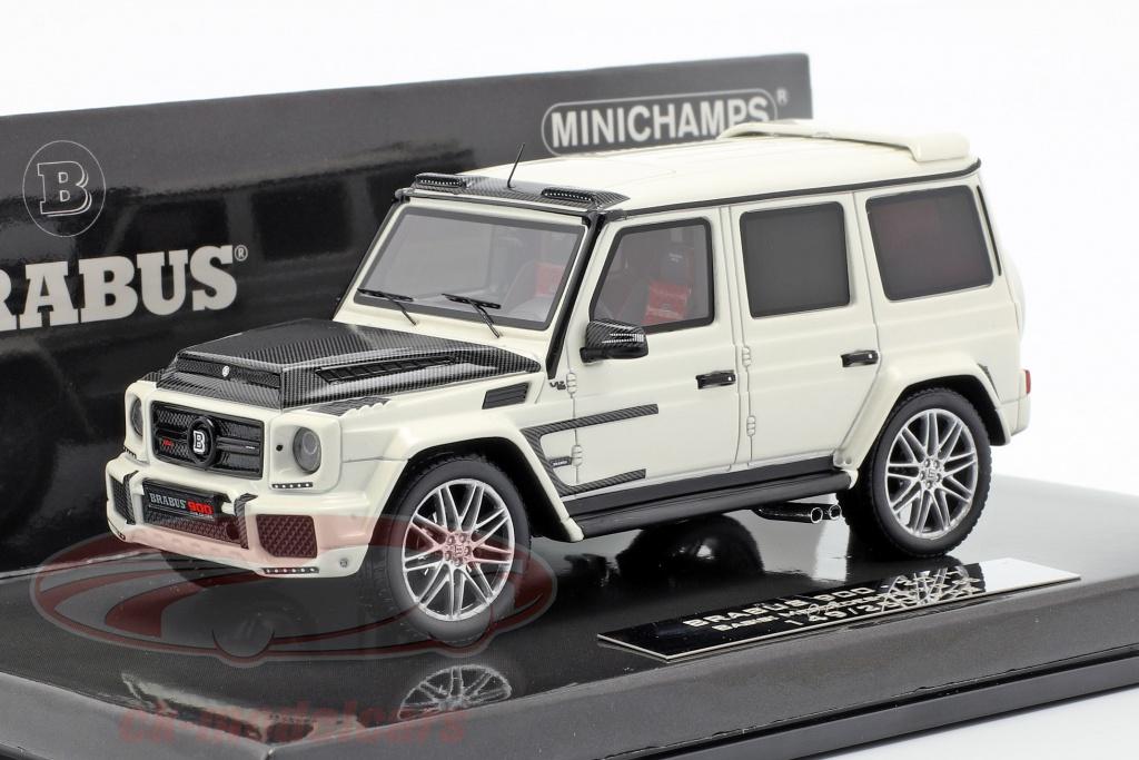 minichamps-1-43-brabus-900-baserede-p-mercedes-benz-g65-opfrselsr-2017-hvid-437037402/