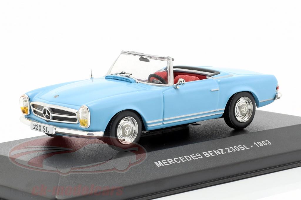 solido-1-43-mercedes-benz-230sl-roadster-w113-anno-di-costruzione-1963-azzurro-s4304600/