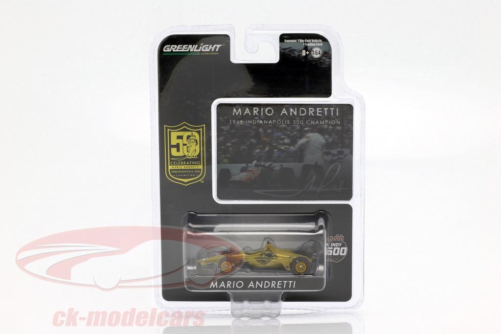 greenlight-1-64-mario-andretti-50e-anniversaire-indy-500-champion-1969-dallara-universal-aero-kit-10853/