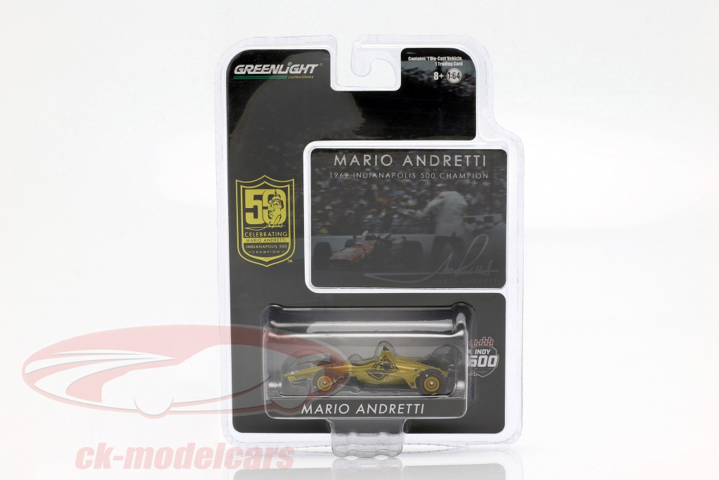 greenlight-1-64-mario-andretti-50th-anniversary-indy-500-champion-1969-dallara-universal-aero-kit-10853/