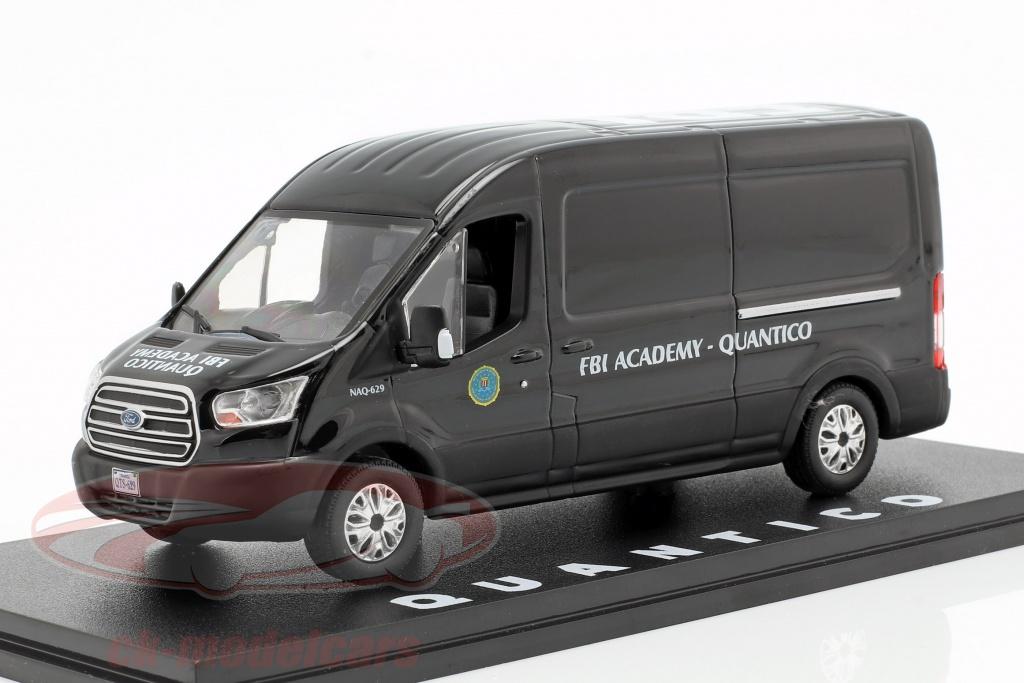 greenlight-1-43-ford-transit-fbi-academy-anno-di-costruzione-2015-serie-tv-quantico-2015-2018-nero-86157/