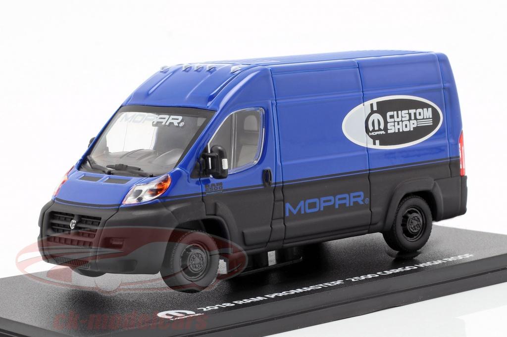 greenlight-1-43-ram-promaster-2500-cargo-van-year-2018-blue-black-86155/