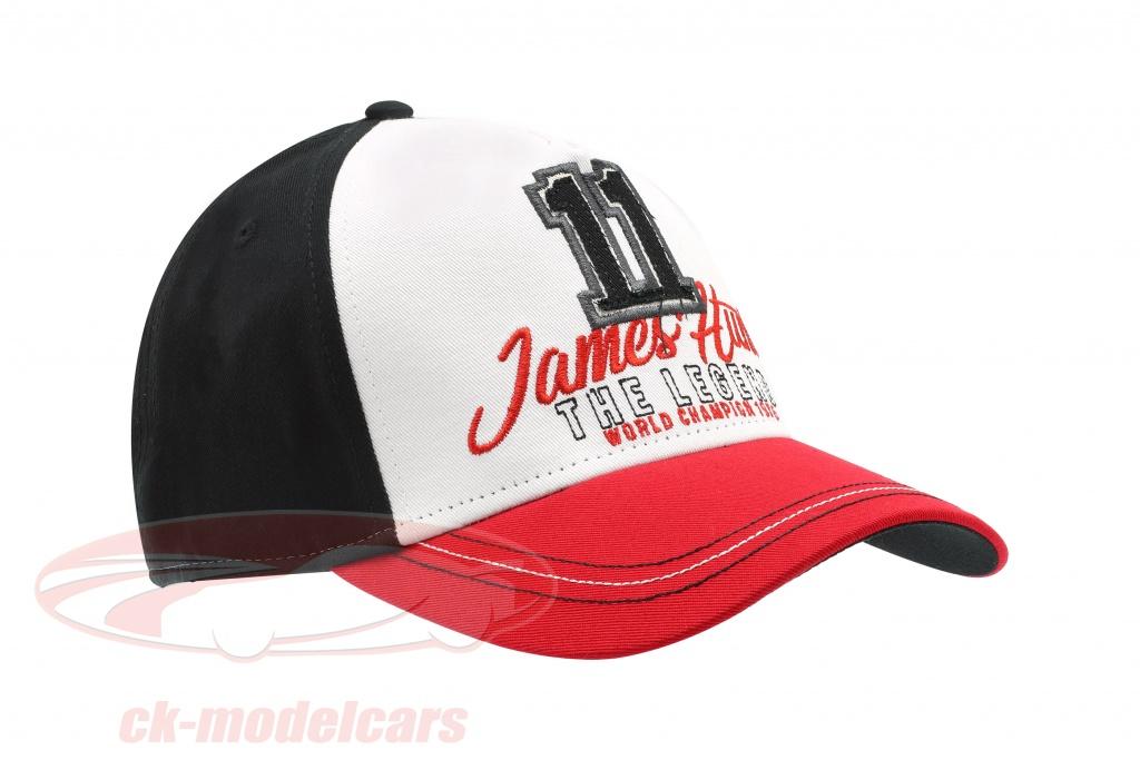 james-hunt-cap-zandvoort-no11-hollandsk-gp-verdensmester-formel-1-1976-rd-hvid-sort-jh-19-040/
