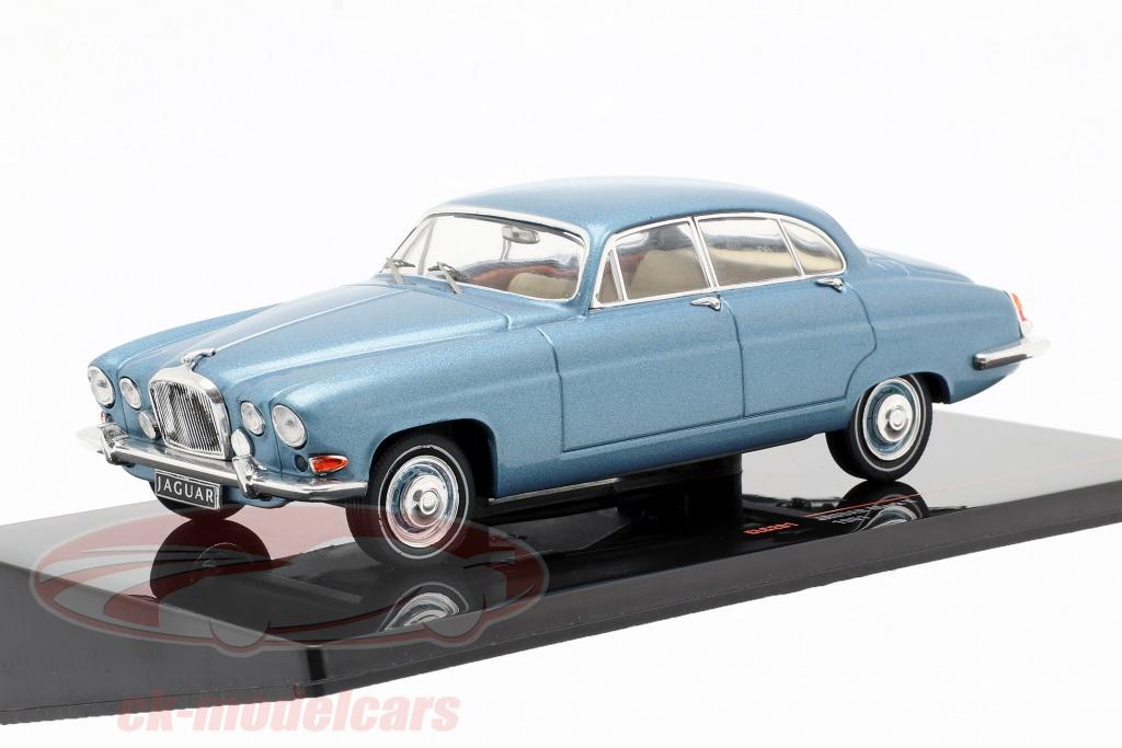 ixo-1-43-jaguar-mark-x-annee-de-construction-1961-bleu-metallique-clc291/