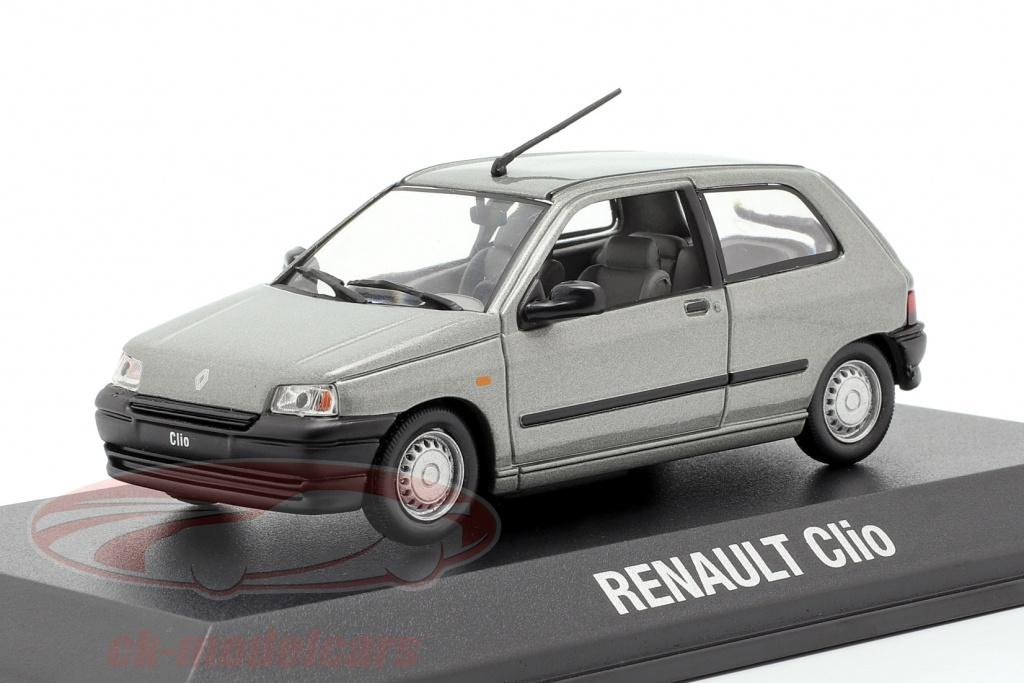norev-1-43-renault-clio-bouwjaar-1990-grijs-metalen-7711780928/