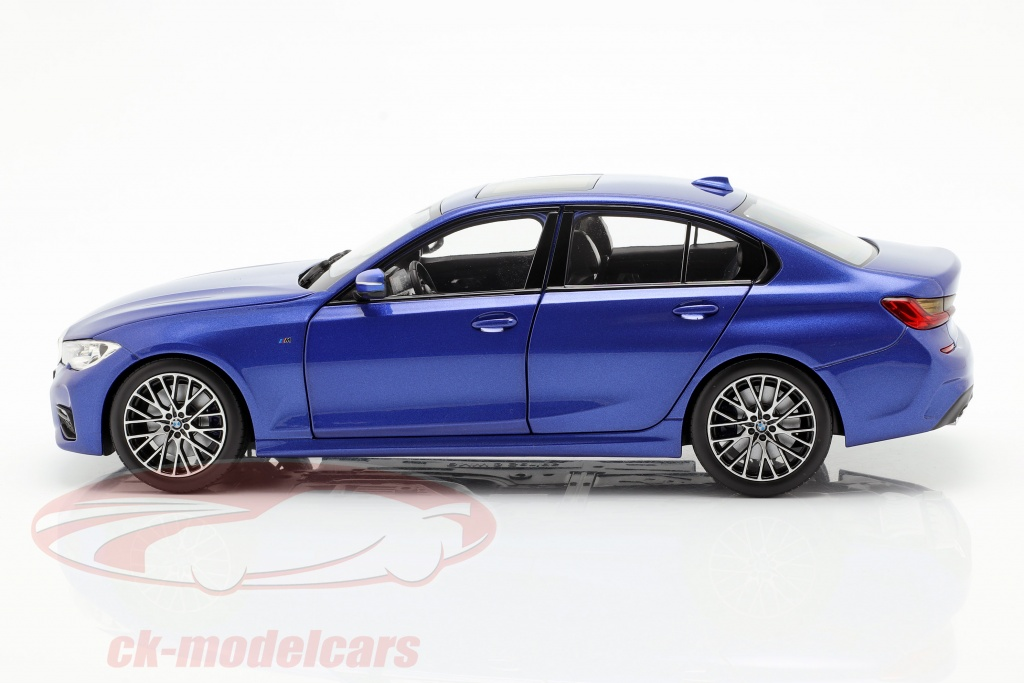 Norev 1 18 Bmw 3 Series Limousine G20 Year 2019 Portimao Blue