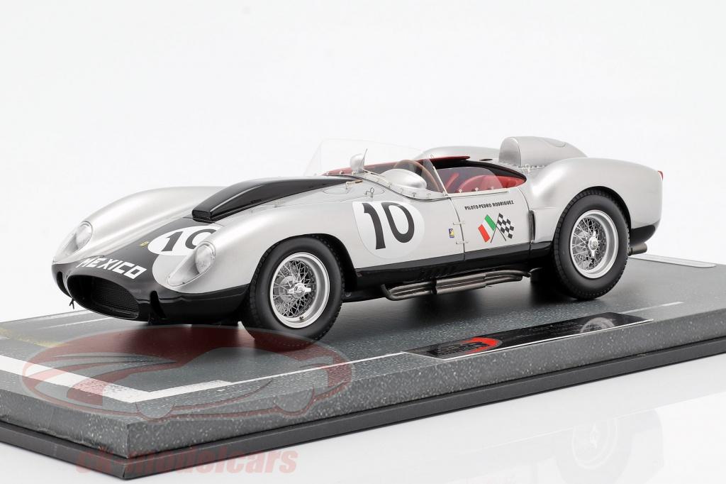 bbr-models-1-18-ferrari-250-tr58-no10-2nd-nassau-trophy-race-1958-pedro-rodriguez-bbrc1816/