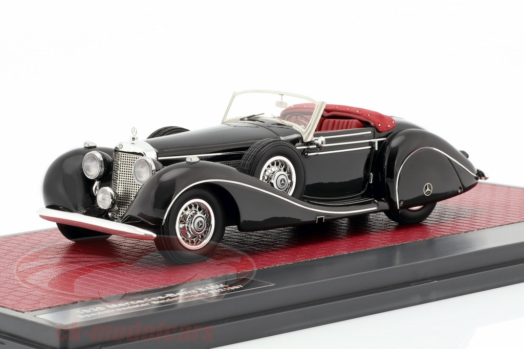 matrix-1-43-mercedes-benz-540k-speciale-roadster-sindelfingen-bouwjaar-1939-zwart-mx41302-162/