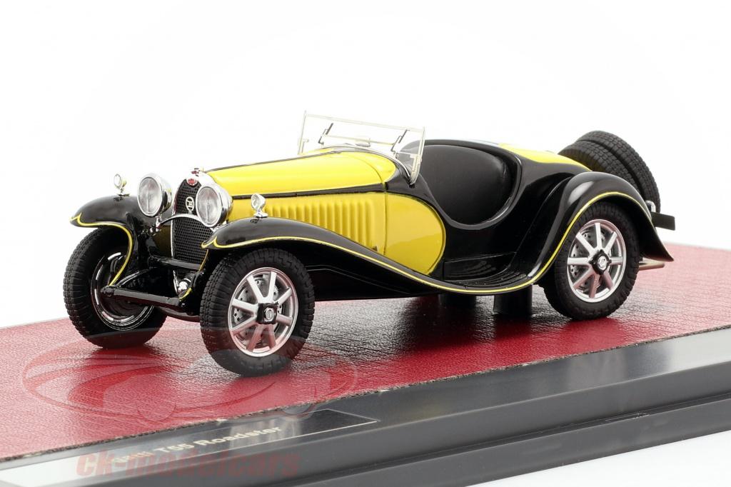 matrix-1-43-bugatti-t55-roadster-bouwjaar-1932-geel-zwart-mx40205-071/