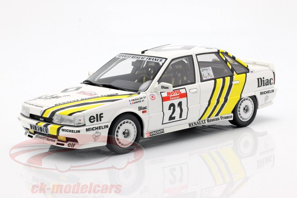 ottomobile-1-18-renault-21-turbo-grn-no21-rallye-tour-de-corse-1988-bugalski-andrie-ot317/