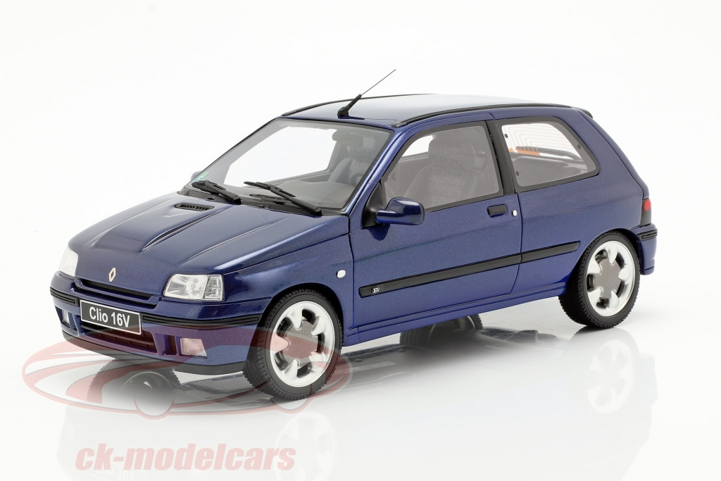 ottomobile-1-18-renault-clio-16v-phase-2-year-1995-monaco-blue-ot744/