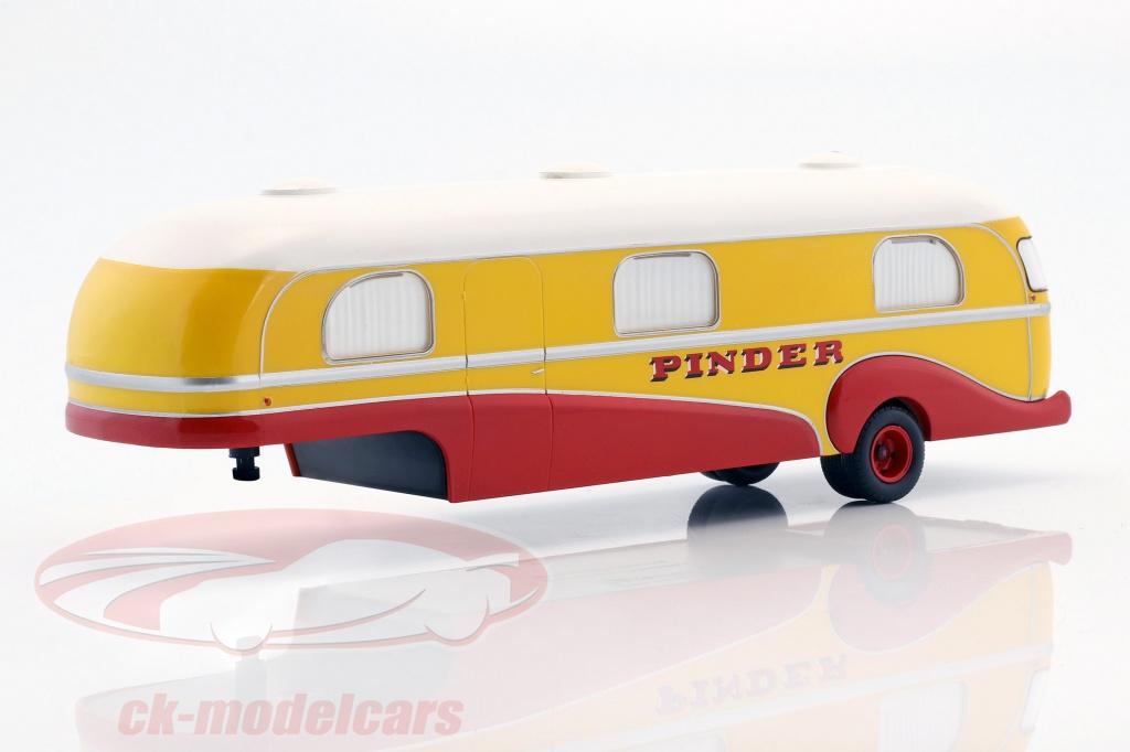 direkt-collections-1-43-caravan-trailer-pinder-circus-year-1955-yellow-red-white-pinc03/