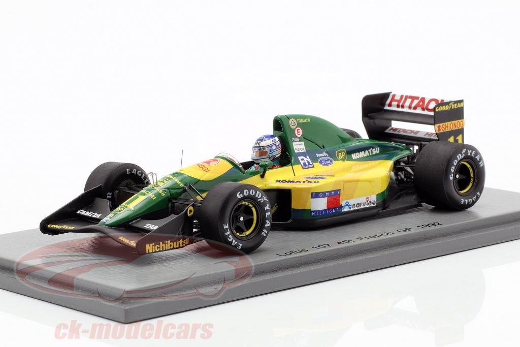 spark-1-43-mika-haekkinen-lotus-107-no11-4th-french-gp-formula-1-1992-s5355/