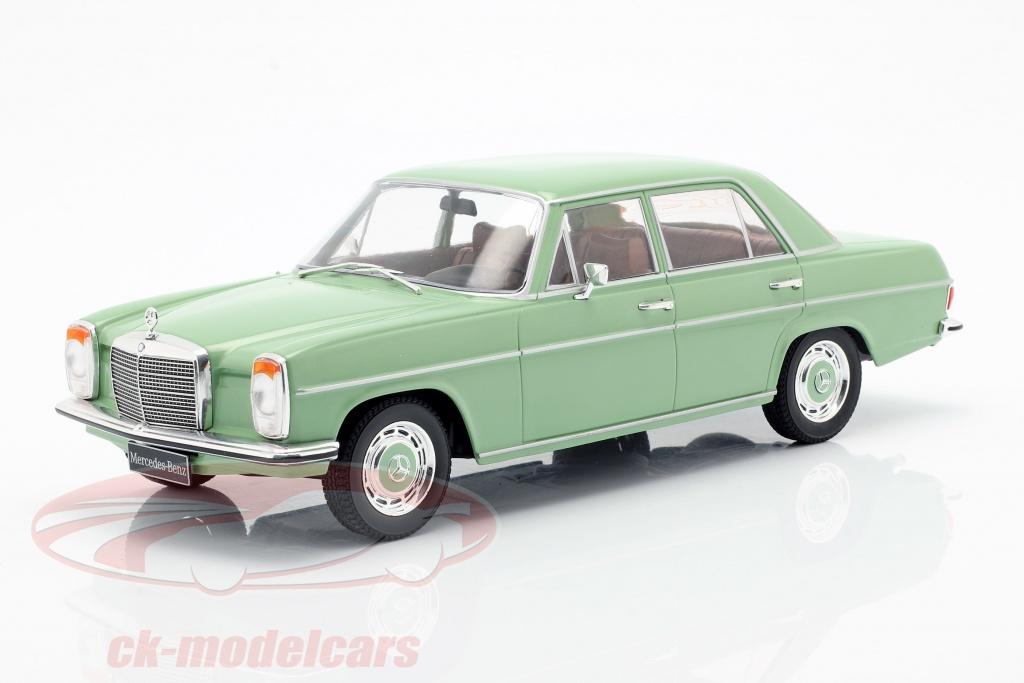 modelcar-group-1-18-mercedes-benz-220d-8-w115-anno-di-costruzione-1972-luminoso-verde-mcg18116/