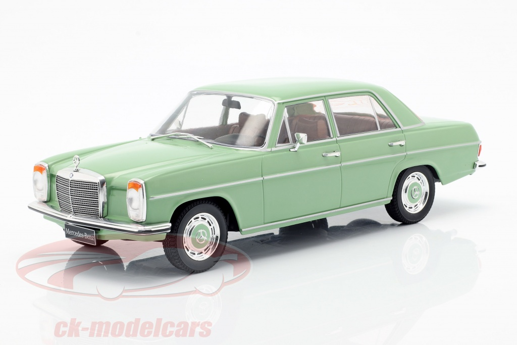 modelcar-group-1-18-mercedes-benz-220d-8-w115-year-1972-light-green-mcg18116/
