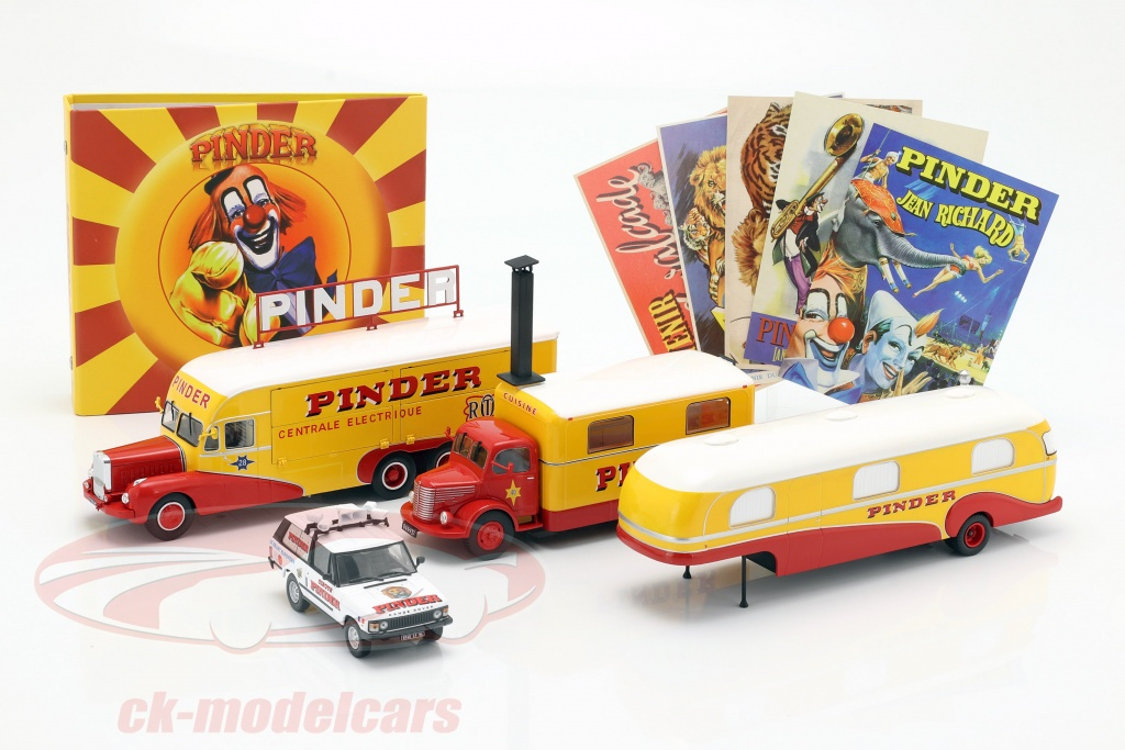 direkt-collections-1-43-4-car-set-pinder-circus-plus-additional-accessories-ck55200/