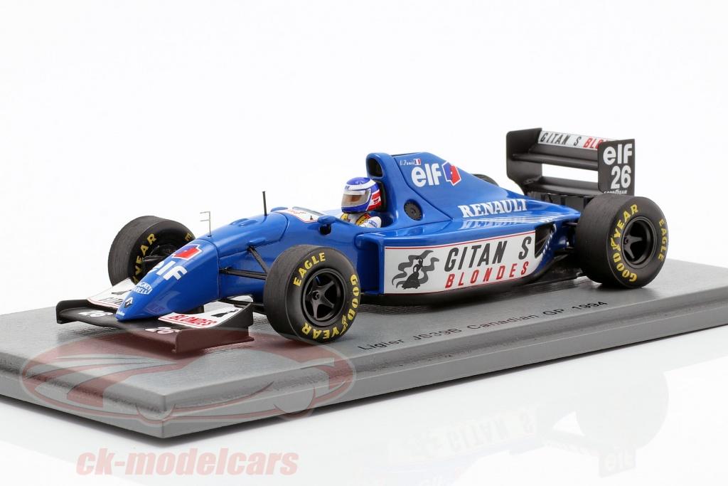 spark-1-43-olivier-panis-ligier-js39b-no26-canadiense-gp-formula-1-1994-s7400/