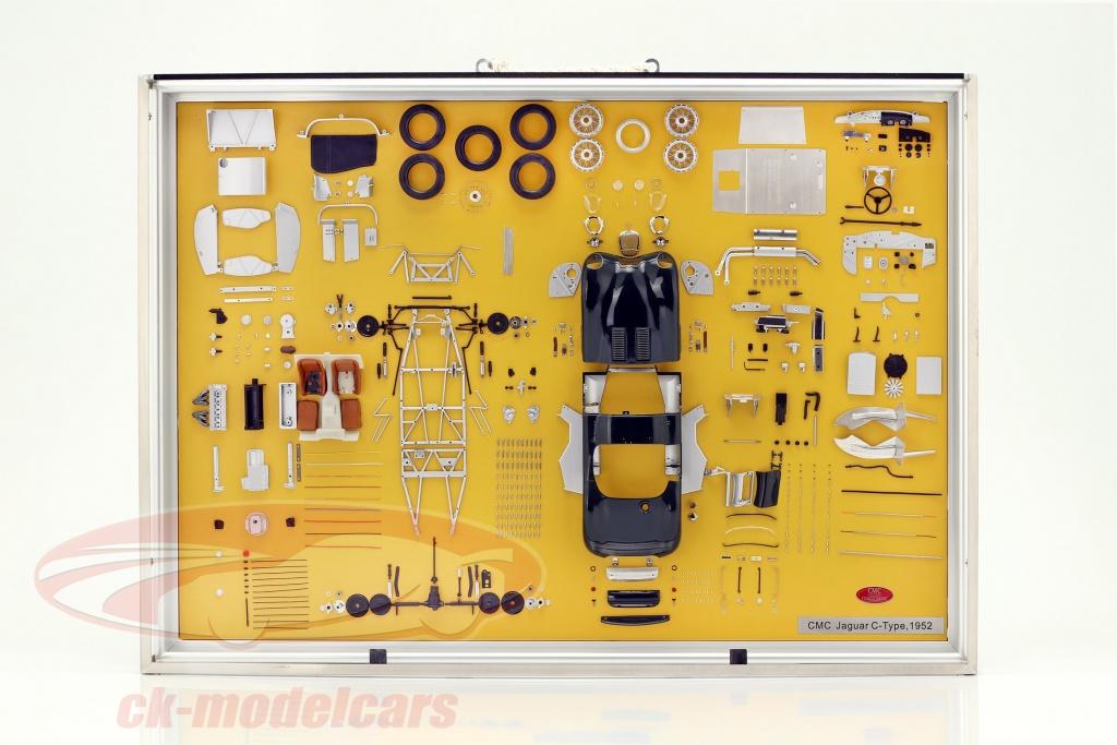cmc-1-18-model-art-jaguar-c-type-bouwjaar-1952-componenten-tonen-a-016/