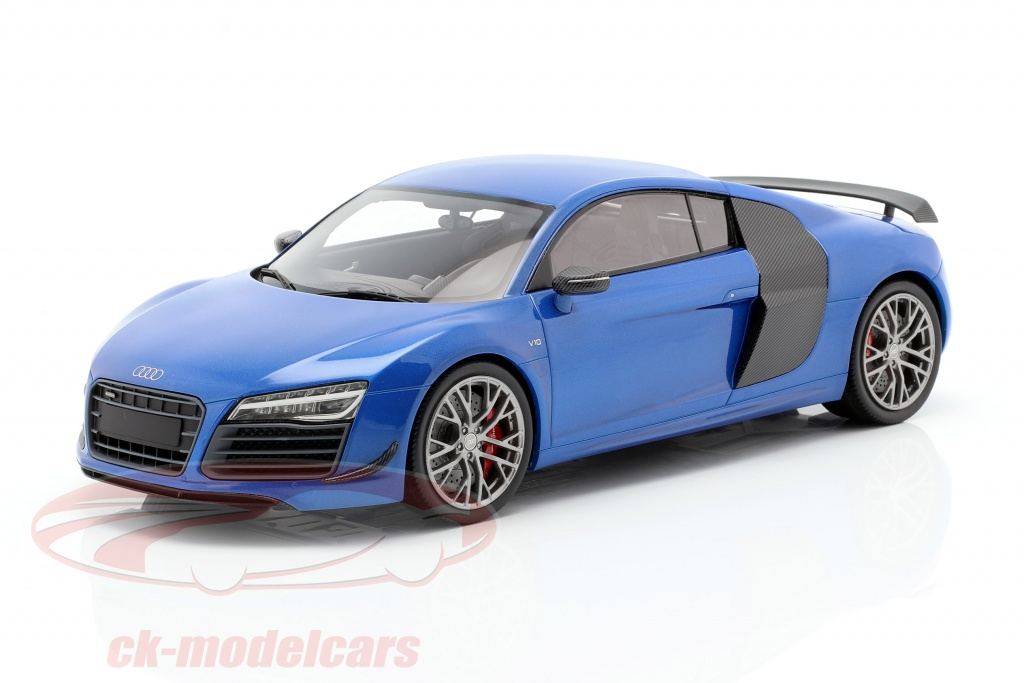 dna-collectibles-1-18-audi-r8-lmx-ano-de-construcao-2014-ara-azul-dna000031/