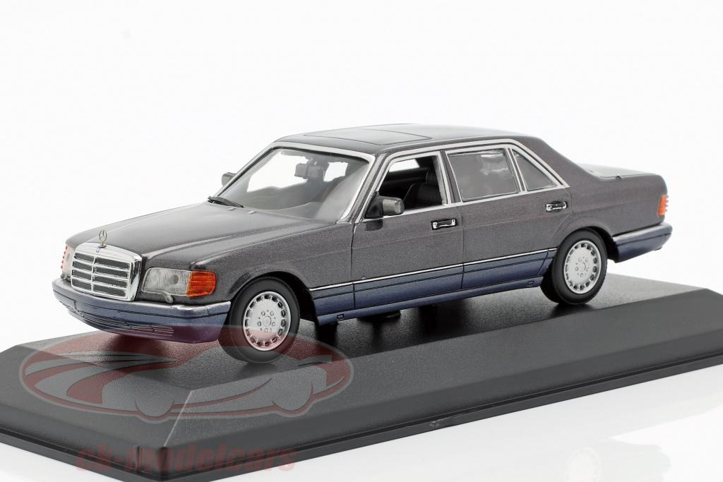 minichamps-1-43-mercedes-benz-560-sel-w126-anno-di-costruzione-1990-viola-metallico-940039301/