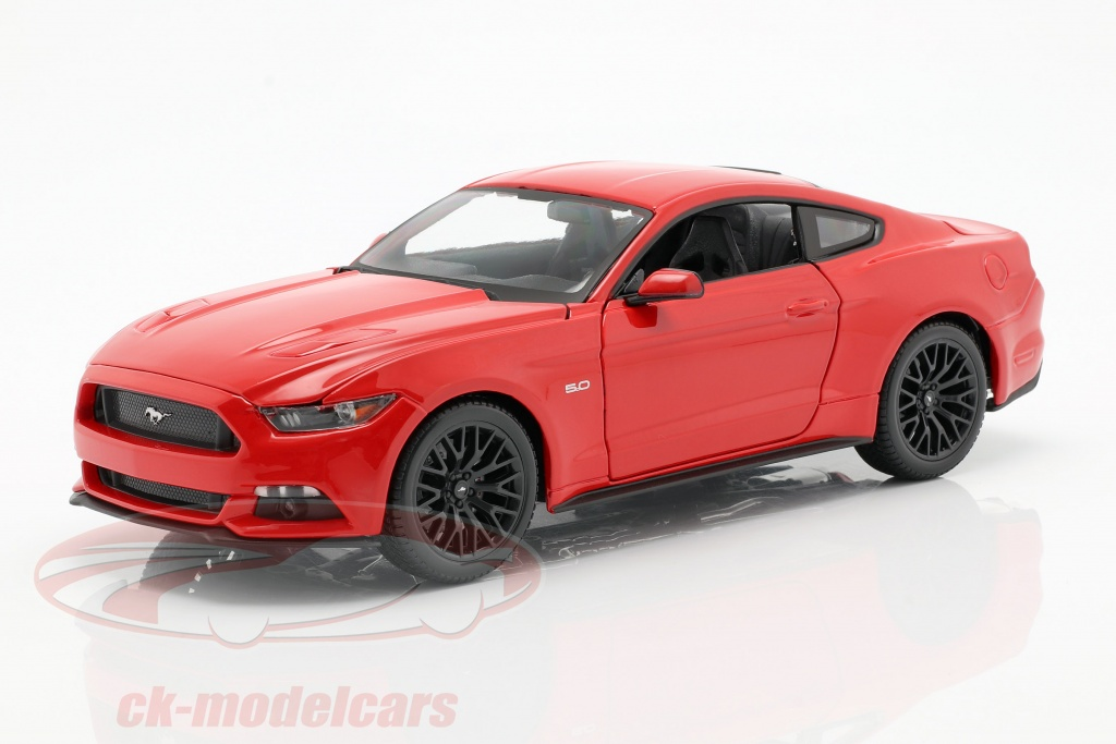 maisto-1-18-ford-mustang-year-of-construction-2015-red-31197/