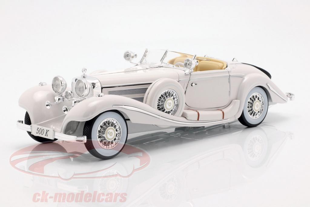 maisto-1-18-mercedes-benz-500-k-special-roadster-anno-1936-bianco-36055/