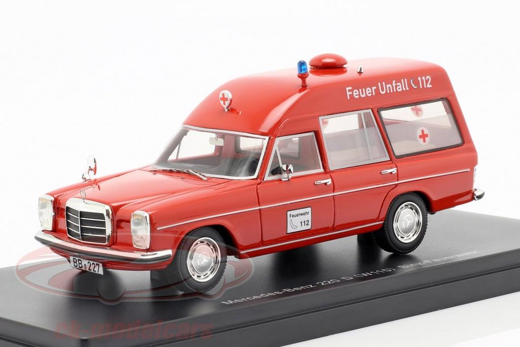 neo-1-43-mercedes-benz-220d-w115-binz-ambulanz-rot-neo47155/