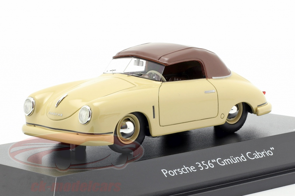 schuco-1-43-porsche-356-gmuend-cabriolet-closed-top-beige-brun-450879700/