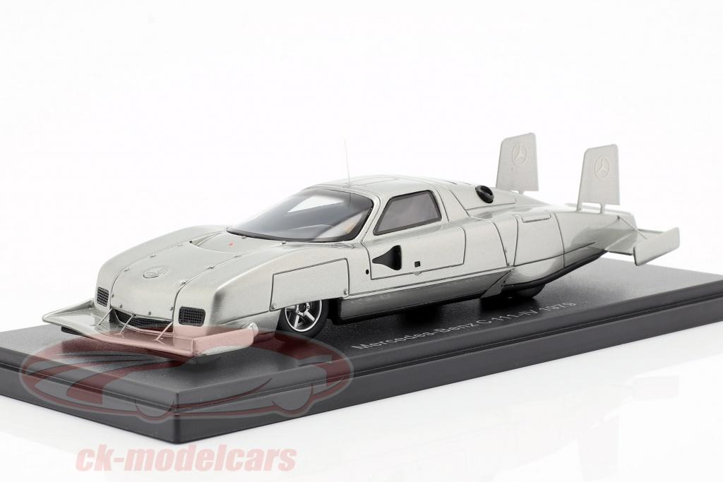 neo-1-43-mercedes-benz-c111-iv-concept-car-1979-silver-neo47205/