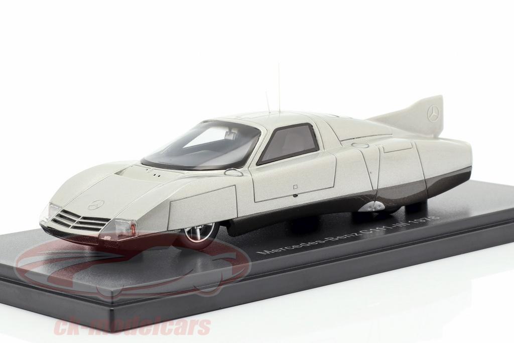 neo-1-43-mercedes-benz-c111-iii-concept-car-1978-silver-neo46925/