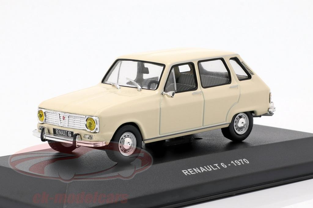 solido-1-43-renault-6-opfrselsr-1970-creme-hvid-s4304700/
