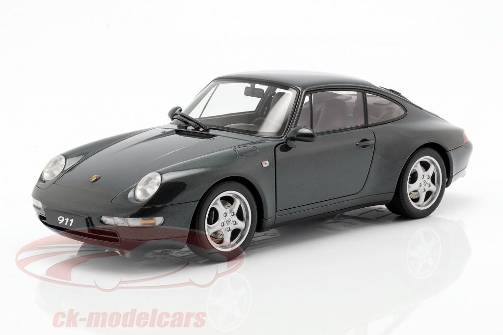 autoart-1-18-porsche-911-993-carrera-anno-1995-verde-scuro-78134/