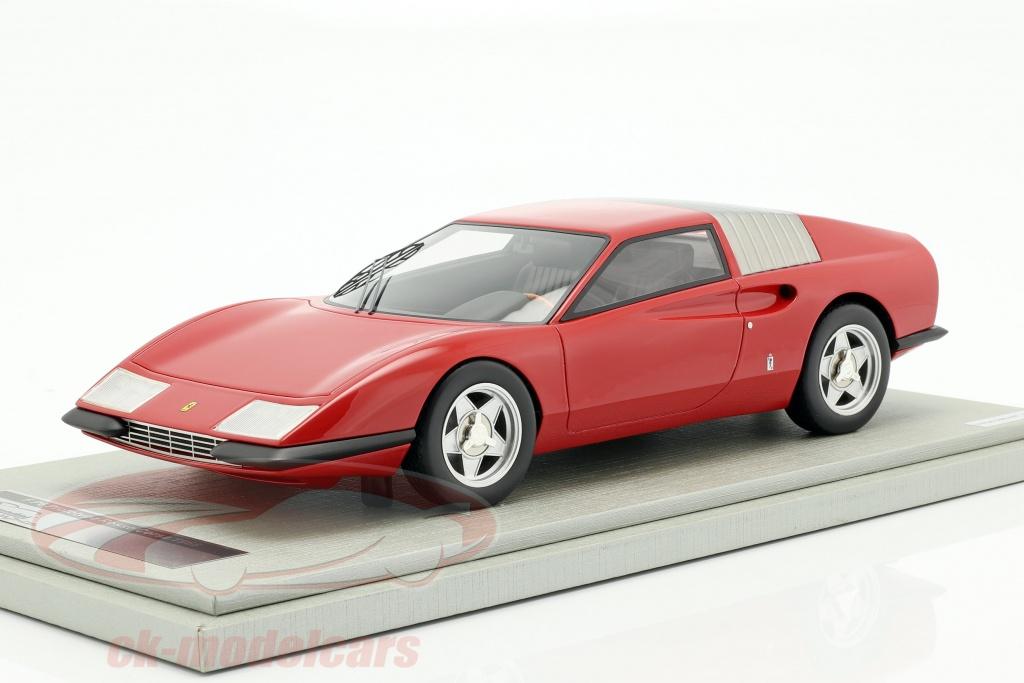tecnomodel-1-18-ferrari-p6-pininfarina-prototype-year-1968-corsa-red-tm18-93c/