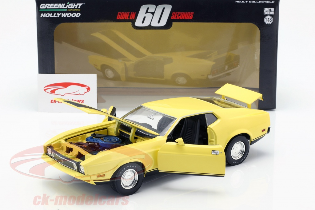 DIAMONDS ARE FOREVER Red GREENLIGHT 1:43 Hollywood Ford Mustang Mach 1