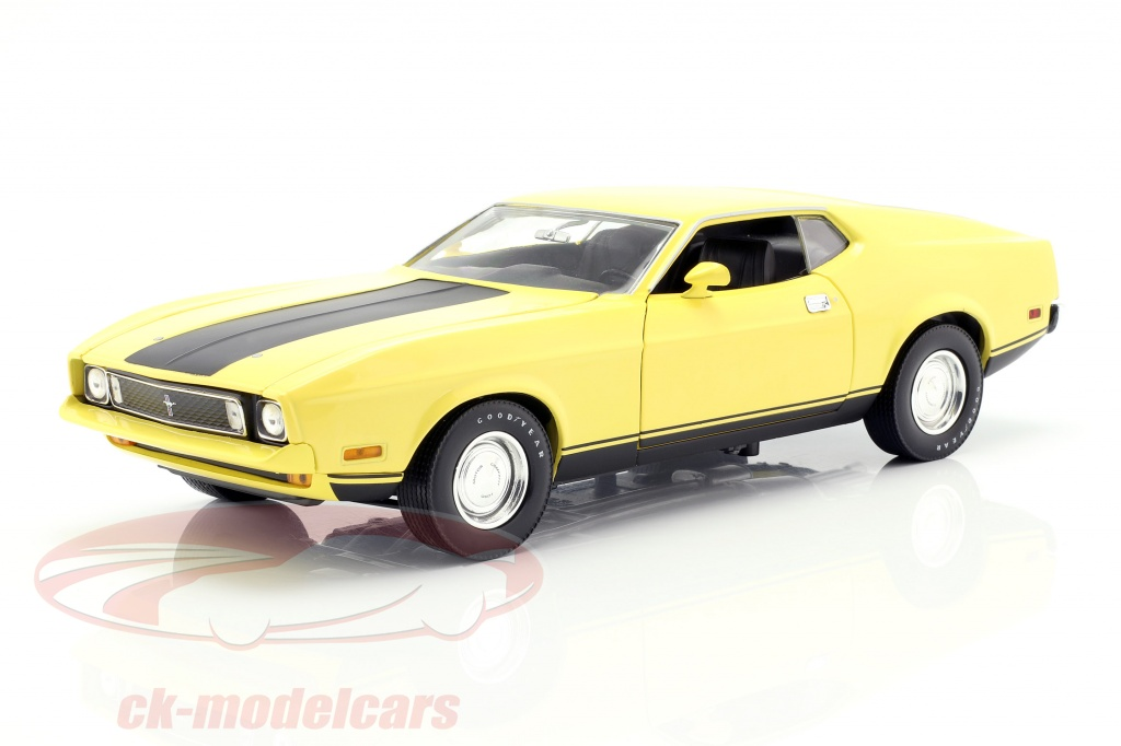 greenlight-1-18-ford-mustang-mach-1-eleanor-film-gone-in-60-seconds-1974-giallo-12910/
