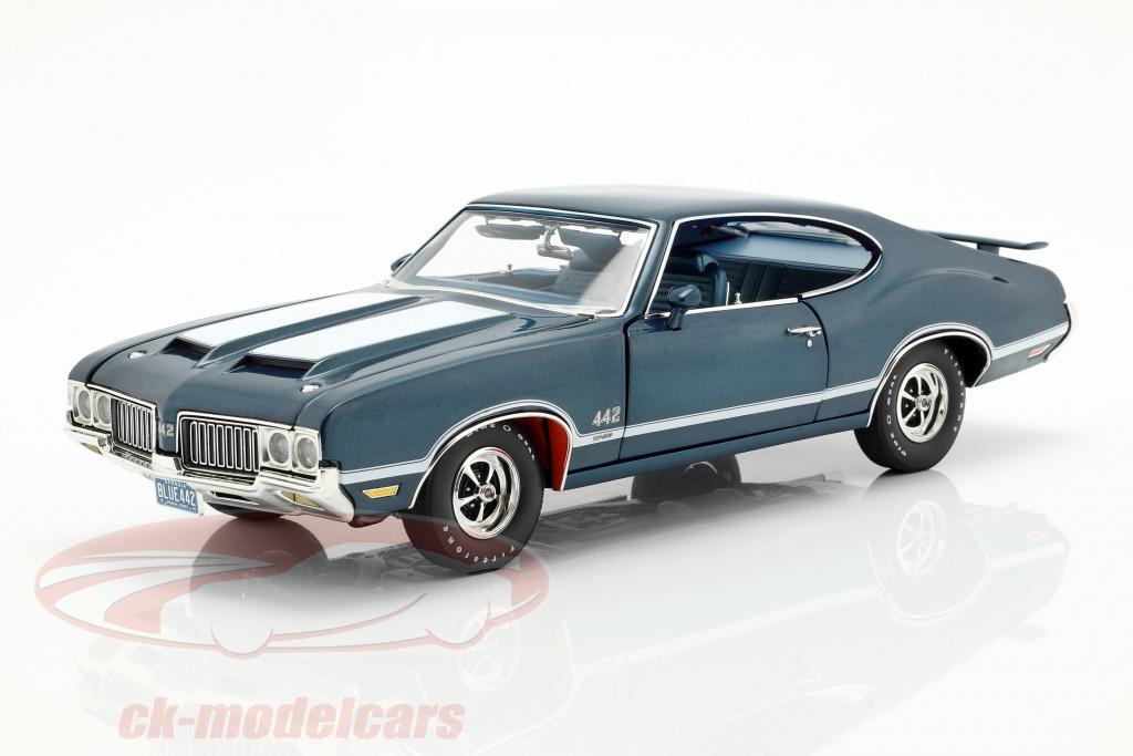 gmp-1-18-oldsmobile-442-w-30-opfrselsr-1970-bl-hvid-a1805611/