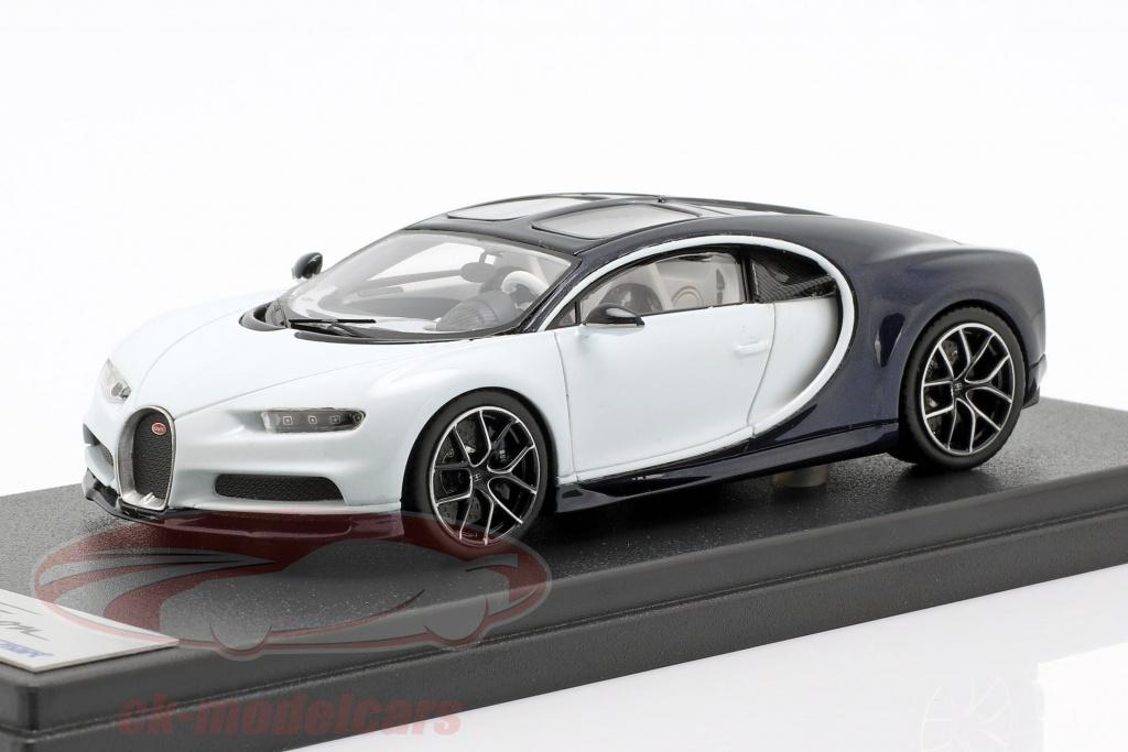 looksmart-1-43-bugatti-chiron-skyview-blanco-azul-oscuro-metalico-ls494c/