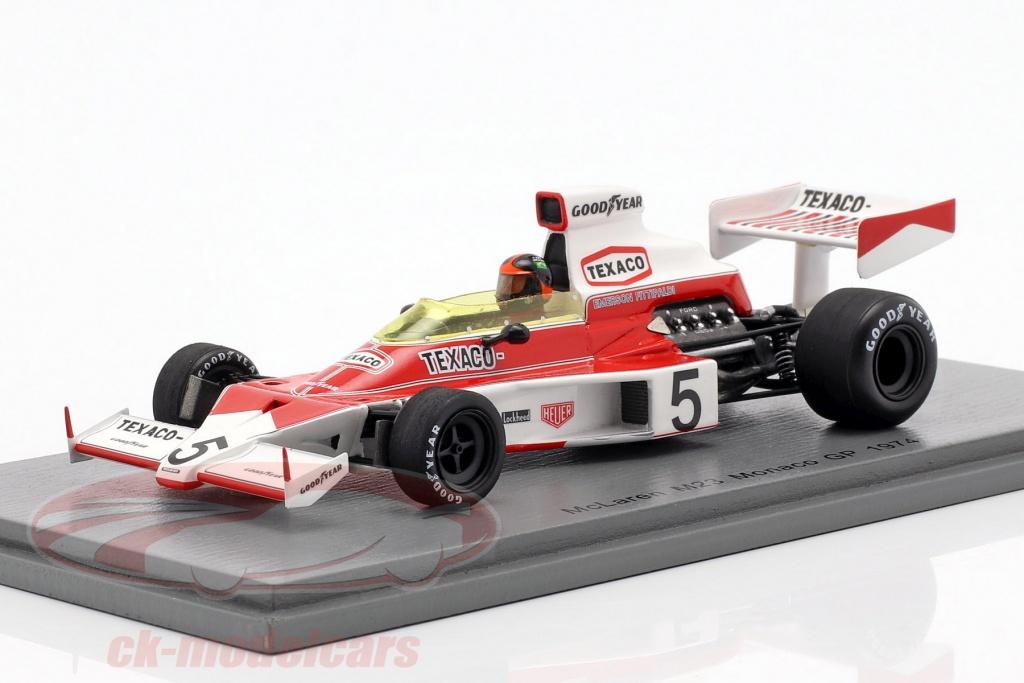 spark-1-43-emerson-fittipaldi-mclaren-m23-no5-verdensmester-monaco-gp-formel-1-1974-s7147/