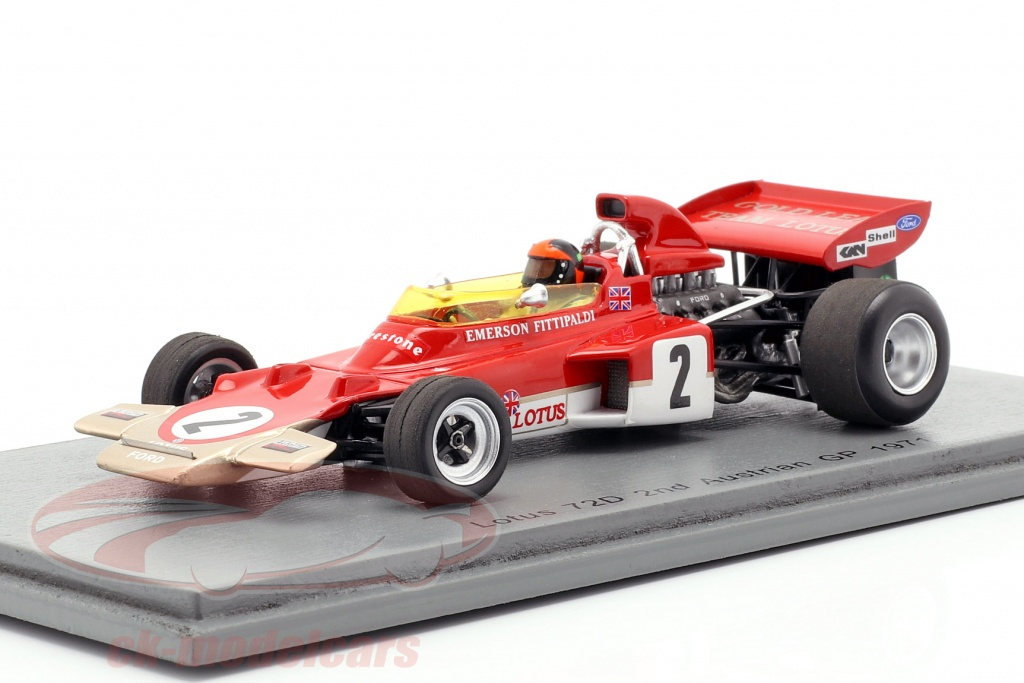 spark-1-43-emerson-fittipaldi-lotus-72d-no2-2-autriche-gp-formule-1-1971-s7125/