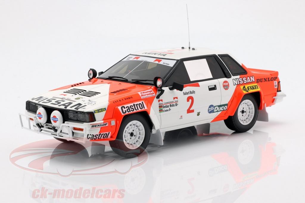 ottomobile-1-18-nissan-240-rs-no2-rallye-safari-1984-mehta-combes-ot765/