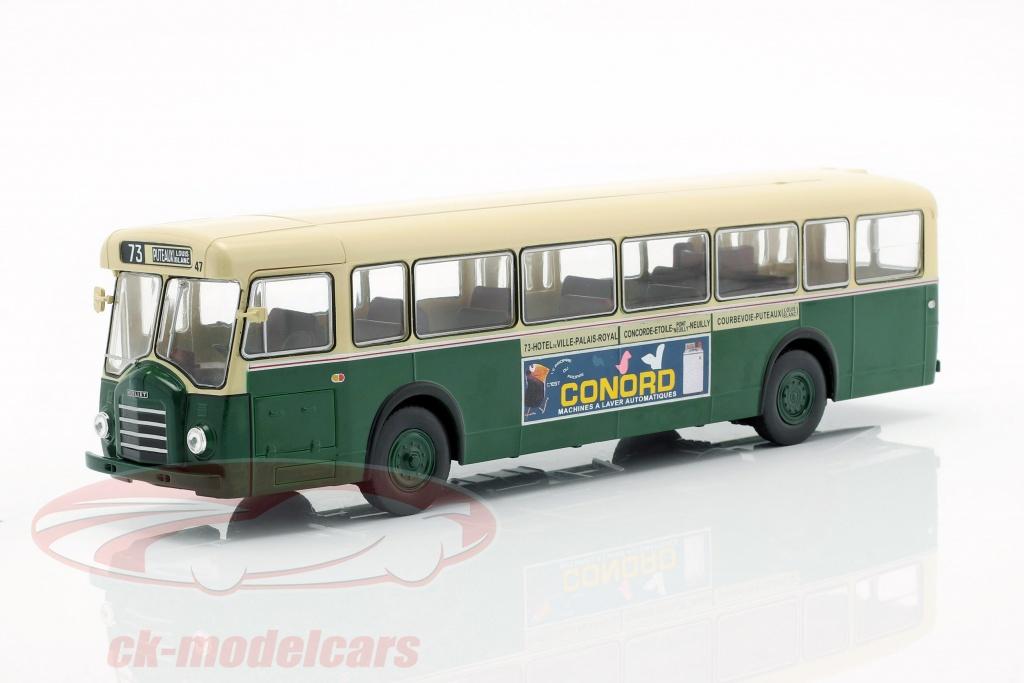 altaya-1-43-berliet-pcs10-autobus-francia-anno-di-costruzione-1960-verde-scuro-beige-acbus079/
